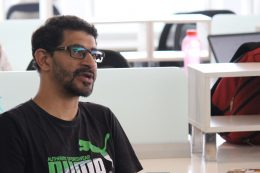 A sneak-peak at Tech Blogger Himanshu Sheth's write-up on GoodWorks CoWork