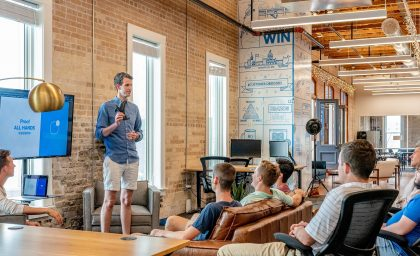 WHY HOST YOUR EVENT IN A COWORKING SPACE?