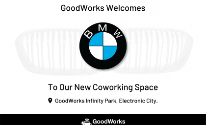 BMW  to move into GoodWorks Infinity coworking space