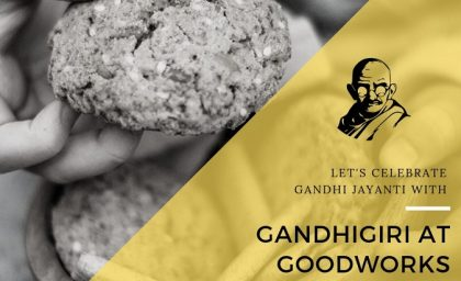 Gandhigiri at GoodWorks – Why it matters in a coworking space!