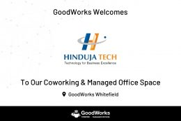 Hinduja chooses GoodWorks!